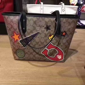 Coach limited city zip  tote
